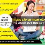 Tuyển Sinh Trung Cấp Mầm Non Tại TPHCM – Trung Cấp Sài Gòn