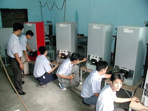 Học viên được đào tạo bài bản từ kiến thức cơ bản đến nâng cao