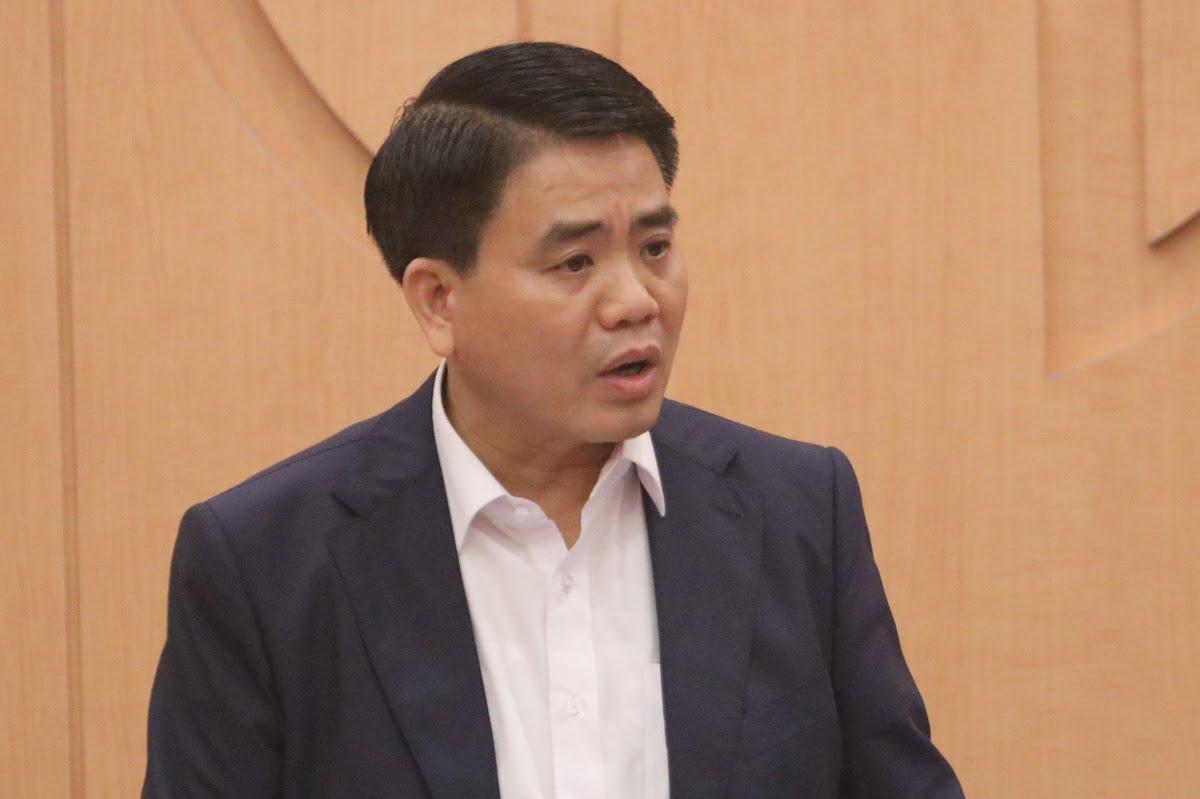Chủ tịch UBND TP Hà Nội, ông Nguyễn Đức Chung _ Nguồn ảnh: Google