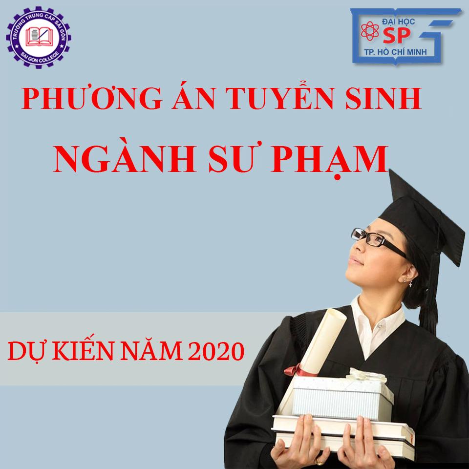 Phương án tuyển sinh 2020 Đại học Sư phạm TPHCM