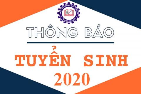 Tuyển sinh Trung cấp 2020