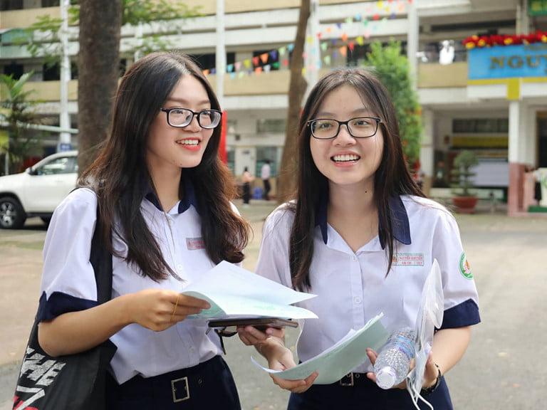 Học sinh đăng ký nguyện vọng vào các trường cao đẳng - đại học năm trước